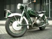 Motorrad Führerschein 50er
