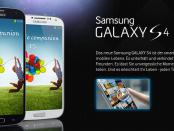 Wieviel kostet das Samsung Galaxy S4
