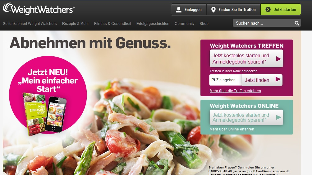 Weight Watchers Kosten Treffen